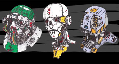 Cyberheads by Glansh