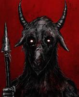 Goatface by Eemeling