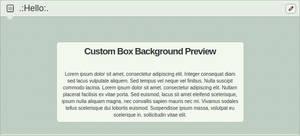 dA Colors Green Hearts Custom Box Background by Sleepy-Stardust
