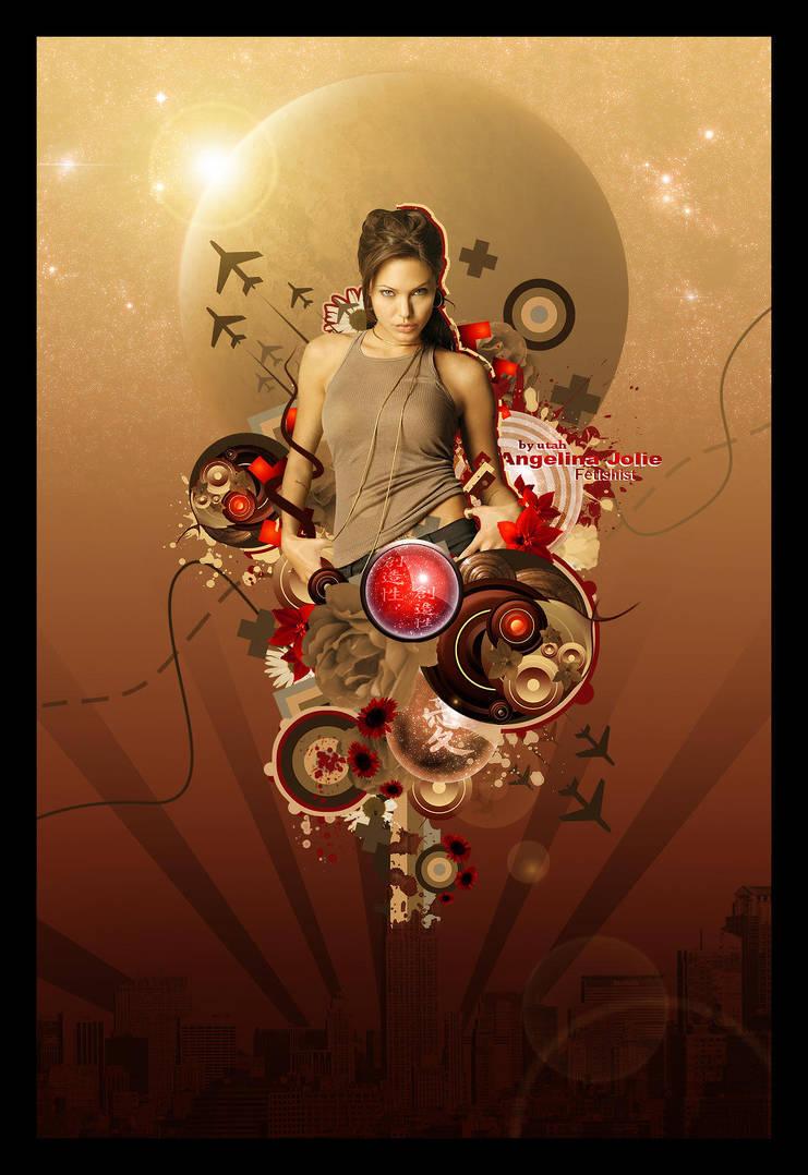 Angelina Jolie Fetishist by utahjazz