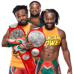 New Day Raw Tag Team Champions by SantiagoGH by SantiagoGH