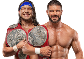 Bobby Roode And Chad Gable Raw TTC Png Render by SantiagoGH