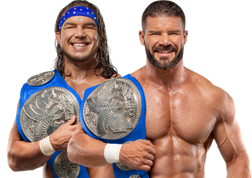 Bobby Roode And Chad Gable SD TTC Png Render by SantiagoGH