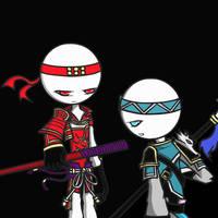 (AT)Zhao Yun and Yukimura by EsBlack