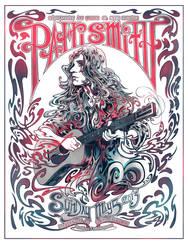 Screenprint: Patti Smith by milestsang