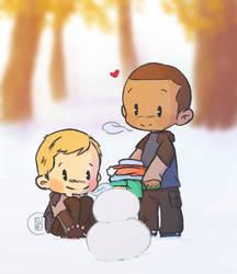 Snowman by SpKunei