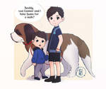 Connor and Cole by SpKunei