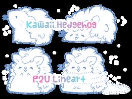 P2U Hedgehog Line Art by Sarilain