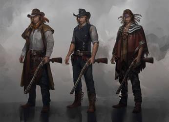 cowboy models by ccornet