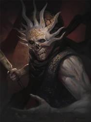 Harbringer of Skulls 1 by ccornet