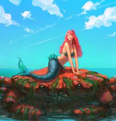 Mermaid by stinkypanda