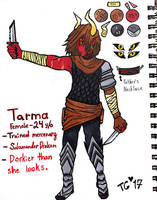 Tarma: Reference Sheet by stylecheetah