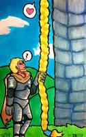 Inktober #27: Climb by stylecheetah