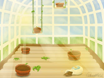 PvZ-RPG Location : Zen Garden by TheGreatKitCat