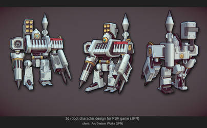 handpainted robot 2 by diorzhang