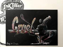 Day 11: Cruel by Lineke-Lijn