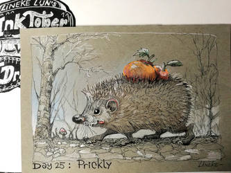 Day 25: Prickly by Lineke-Lijn