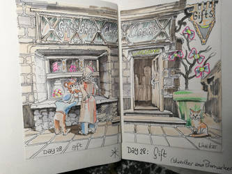 Day 28: Gift by Lineke-Lijn