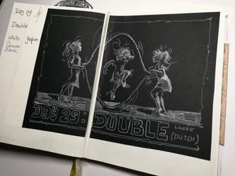 Day 29: Double (Dutch^^) by Lineke-Lijn