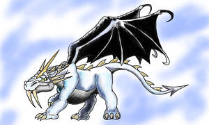 Sabre-Tooth Driver Dragon by Naivintage