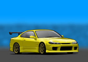 Nissan Silvia 200SX by me-myself