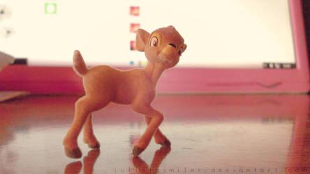 Little Bambi by JulietaSmiler