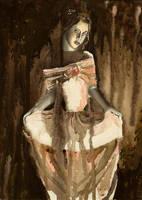 girl in pink by Afdemridge