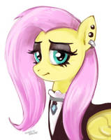 Fluttergoth by hardbrony