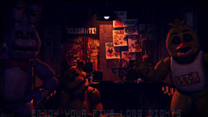 Long nights (fnaf sfm) by JR2417