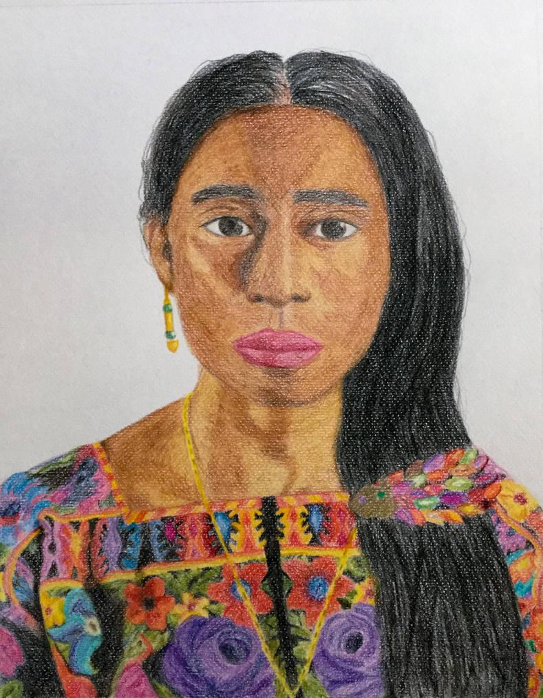 Guatemalan Woman by MisaelRubio