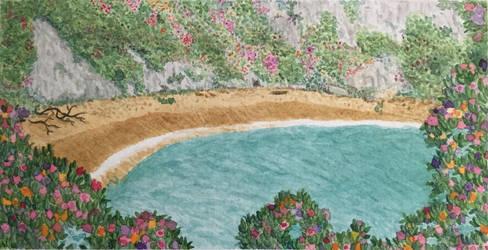 Secret Beach by MisaelRubio