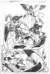 God Of War Pinup by DrewEdwardJohnson