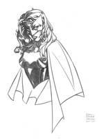 Batwoman con sketch by DrewEdwardJohnson