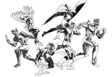 Classic X-Men by DrewEdwardJohnson