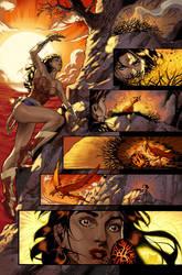 Unpublished Wonder Woman pg 4 by DrewEdwardJohnson