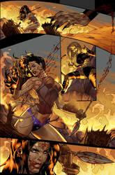 Unpublished Wonder Woman pg 9 by DrewEdwardJohnson