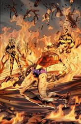 Unpublished Wonder Woman pg 16 by DrewEdwardJohnson