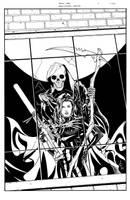 Black Bag Issue One Cover by DrewEdwardJohnson