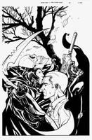 Black Bag Issue Six Cover by DrewEdwardJohnson