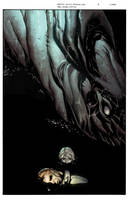 MIDNIGHT SOCIETY: THE BLACK LAKE Issue Three Cover by DrewEdwardJohnson