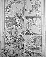 Sensation Comics 12 pg 1 pencils by DrewEdwardJohnson