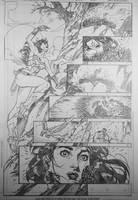 Sensation Comics 12 pg 3 by DrewEdwardJohnson
