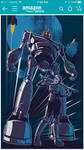 READY PLAYER ONE Iron Giant  Art3mis by DrewEdwardJohnson