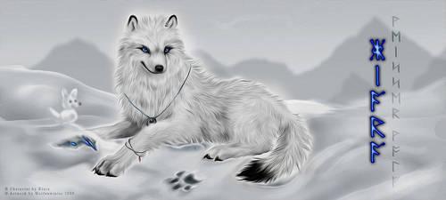 Eyes like Snow by wolfenwinter