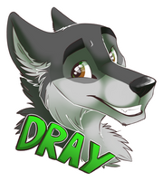 Dray Badge by Tsebresos