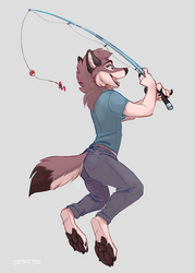 Fishing by Tsebresos
