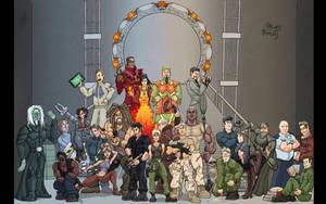 Stargate Jam wallpaper by woodlu