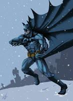 Batman Winter by woodlu