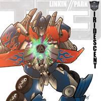 Linkin Park Iridescent Poster by woodlu
