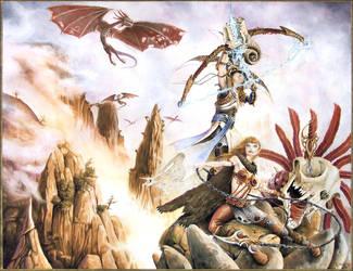Dragon Hunters by graver13